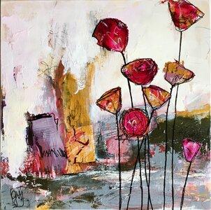 Flowers No 5 by  Gabriela Hirt