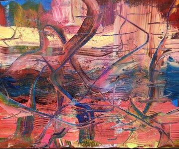 Desert Stream by  Cheryl HOOSON