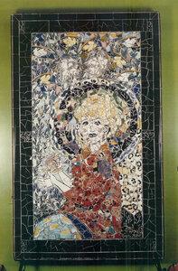 Rebar Mosaic by Sandra Millott by  Sandra Millott