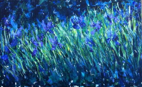 Summertime Blue by  Miesje Taylor