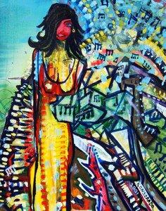 Goddess of Music by  Eli Konsorado