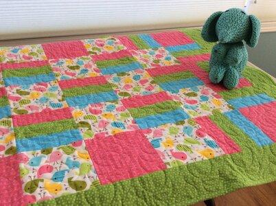 Baby Blanket - Pink by  Della Cronkrite