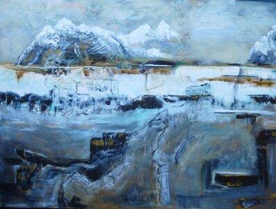 Modern Landscape by  Johanne Hémond