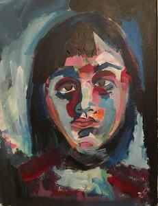 Self portrait by  Zoe Sandell