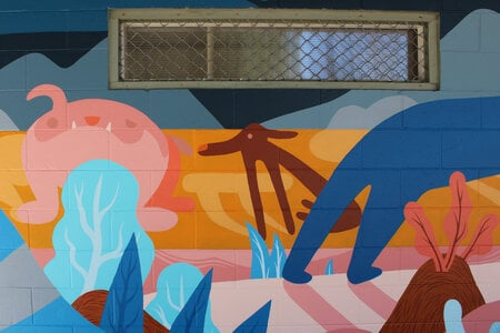 Photo -   Vic West Mural