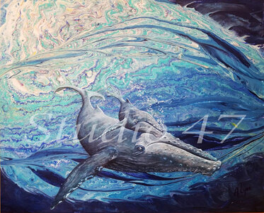Whale Song by  Amanda Stacey