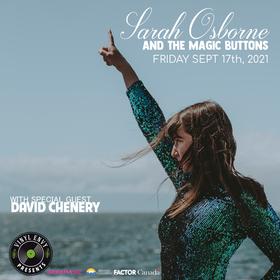 Vinyl Envy Presents: Sarah Osborne & The Magic Buttons, David Chenery @ Vinyl Envy Sep 17 2021 - Sep 24th @ Vinyl Envy