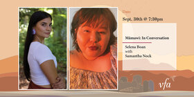 Mâmawi: Selina Boan in Conversation with Samantha Nock: Selina Boan , Samantha Nock @ Metro Studio Sep 30 2021 - Sep 18th @ Metro Studio