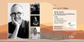 Birth, Death, The Restlessness In Between: Andrea Actis, Jen Sookfong Lee, Hasan Namir @ Metro Studio Oct 1 2021 - Sep 18th @ Metro Studio
