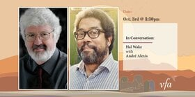 In Conversation: Hal Wake with André Alexis: André Alexis, Hal Wake @ Online Oct 3 2021 - Sep 18th @ Online