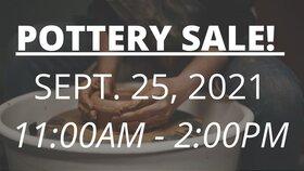 Pottery Sale @ Centennial Centre Parking Lot Sep 25 2021 - Sep 18th @ Centennial Centre Parking Lot