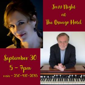 Jazz at The Oswego Hotel: Kim Greenwood, Tony Genge @ Oswego Hotel