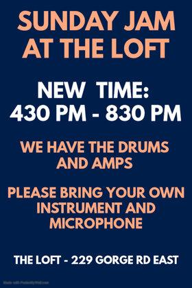 Sunday Jam: Rainshadow Al @ The Loft (Victoria) Dec 26 2021 - Oct 22nd @ The Loft (Victoria)