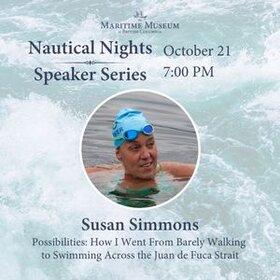Nautical Nights: Susan Simmons: Susan Simmons @ Maritime Museum of BC Oct 17 2021 - Oct 15th @ Maritime Museum of BC