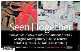 Seen | Together: Georgina Montgomery, Louise Oborne @ Errant ArtSpace Oct 23 2021 - Oct 28th @ Errant ArtSpace