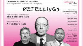 Retellings: Chamber Players of Victoria f. Members of the Victoria Symphony @ Hermann