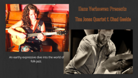Hans Verhoeven Presents: Tina Jones Quartet F. Chad Geekie @ Hermann's Jazz Club Nov 18 2021 - Oct 16th @ Hermann's Jazz Club