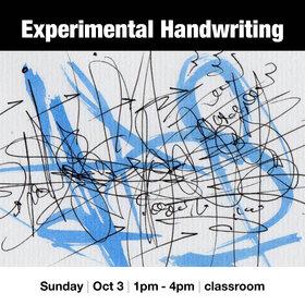 Experimental Handwriting @ Vancouver Island School of Art Oct 3 2021 - Oct 23rd @ Vancouver Island School of Art