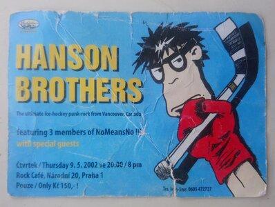 Photo -   The Hanson Brothers 1985  - Photo Credit:  Jason Lamb