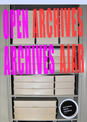 Open Archives/Archives Ajar