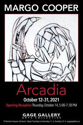 Exhibition: ARCADIA: Margo Cooper @ Gage Gallery Arts Collective Oct 12 2021 - Oct 15th @ Gage Gallery Arts Collective