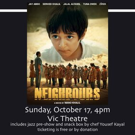 Neighbours @ Vic Theatre Oct 17 2021 - Oct 16th @ Vic Theatre