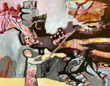Girl in Flight by  Gabriela Hirt