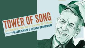 Tower of Song - A Creative Tribute to Leonard Cohen: Oliver Swain, Glenna Garramone @ Hermann's Jazz Club Nov 5 2021 - Oct 16th @ Hermann's Jazz Club
