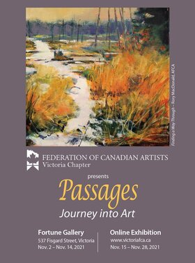 Passages -Journey into Art @ Fortune Gallery Nov 2 2021 - Oct 16th @ Fortune Gallery