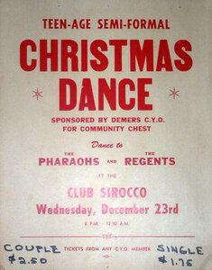 Photo- Club Sirroco Teen Dance 12231959  -   The Regents