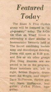 Photo -   Blues X Five