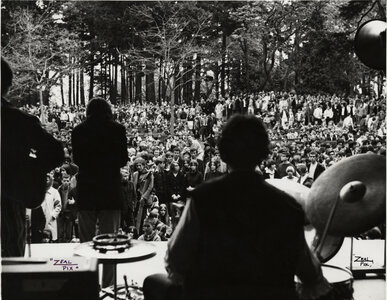 Photo- Beacon Hill Park Cameron Bandshell May 21, 1967  -   Blues X Five  - Photo Credit:  Zeal