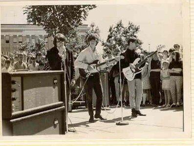 Photo- July 1, 1967 Centennial Square  -   Blues X Five