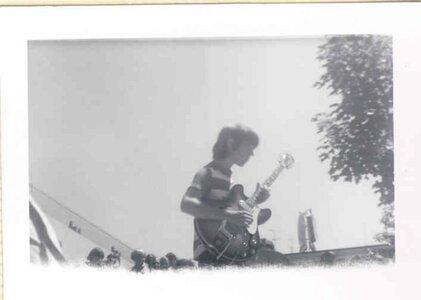Photo- Norm MacPherson July 1, 1967 Centennial Square  -   Blues X Five