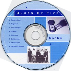 Photo- Bb5cdlabel  -   Blues X Five