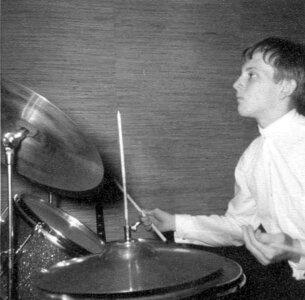 Photo- Blues X Five Rehearsal 1965e  -   Blues X Five