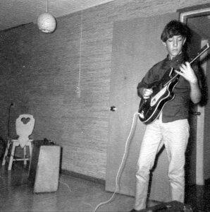 Photo- Blues X Five Rehearsal 1965c  -   Blues X Five