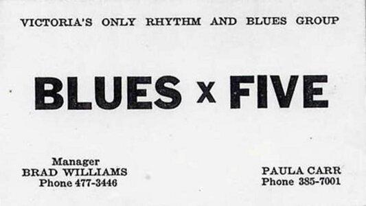 Photo- Bluesxfivebc2  -   Blues X Five