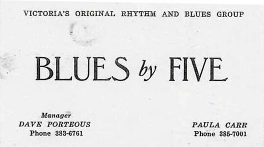 Photo- Bluesxfivebc1  -   Blues X Five