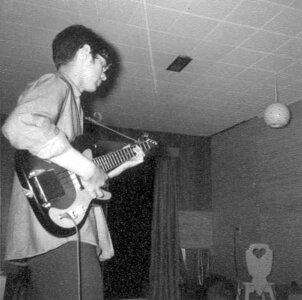 Photo- Blues X Five Rehearsal 1965d  -   Blues X Five