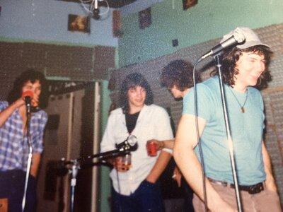 Photo- Rehearsals at Kent studios located upstairs at 742 Fort St. circa 1978  -   Zylus  - Photo Credit:  Jennifer Garandza