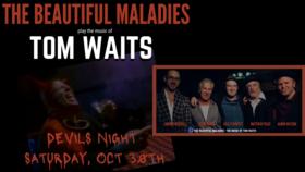 Tribute to Tom Waits: The Beautiful Maladies @ Hermann's Jazz Club Oct 30 2021 - Oct 22nd @ Hermann's Jazz Club
