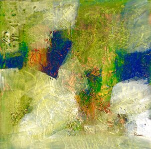 Mossy Thoughts by  June Haynes