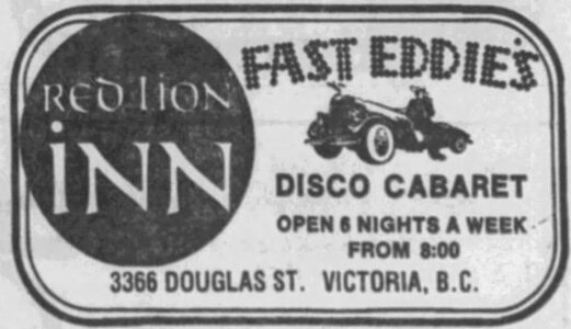 Photo- Victoria Daily Times 17 September 1976  -   Red Lion Motor Inn  - Photo Credit:  Lotus Johnson