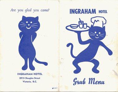 Photo- Pub Menu cover  -   Ingraham Hotel  - Photo Credit:  Glen Moffard