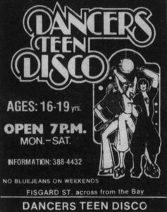 Photo -   Dancers Disco  - Photo Credit:  Lotus Johnson