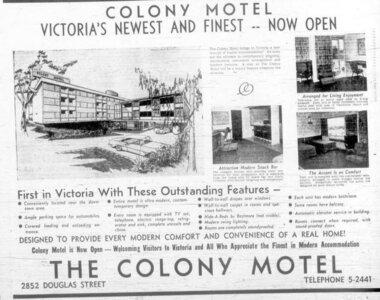 Photo -   Colony Motor Inn  - Photo Credit:  Glen Mofford