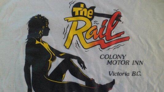 Photo- Brass Rail Logo  -   Colony Motor Inn