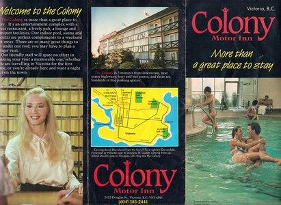 Photo- Colony Brochure Page 1  -   Colony Motor Inn
