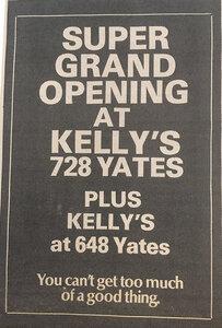Photo -   Kellys Record Centre